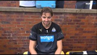 ALS Ice Bucket Challenge - Andy Woodman, Tim Krul and Mike Williamson