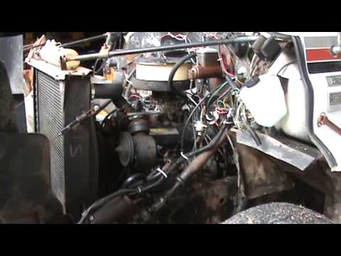 Cold starting a 427 big block Chevy in a 1977 GMC 6500 ...