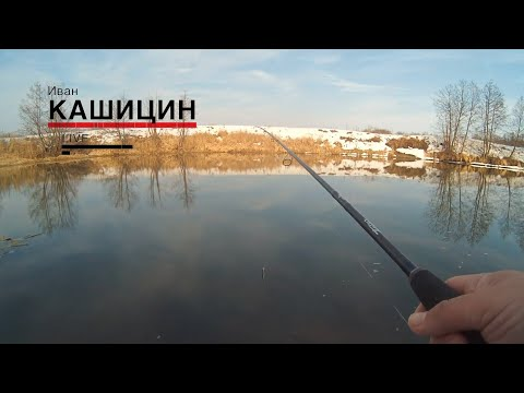 Live-видео. Ловля щуки на малой реке.