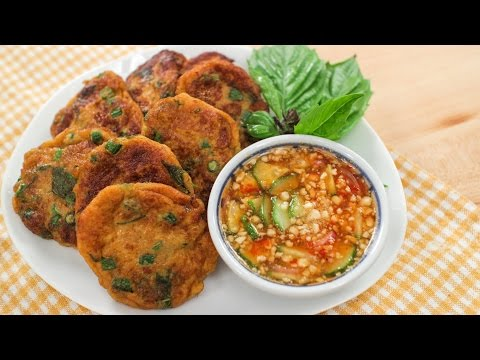 Thai Fish Cakes Recipe (Tod Mun Pla) ทอดมันปลา – Hot Thai Kitchen!