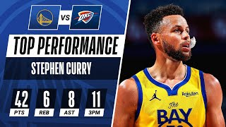 Steph Curry HISTORIC Performance Posting 42 PTS & 11 3PM! 🔥