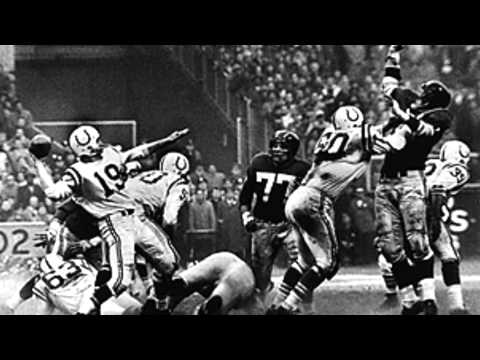Baltimore Colts vs NY Giants - The Greatest Game Ever Played slideshow - 1958 NFL Championship