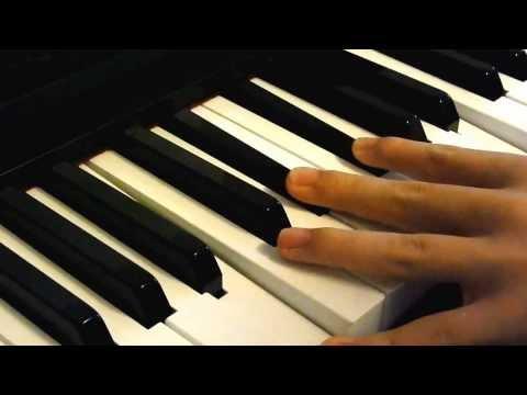 Teen Titans Theme Piano Tutorial