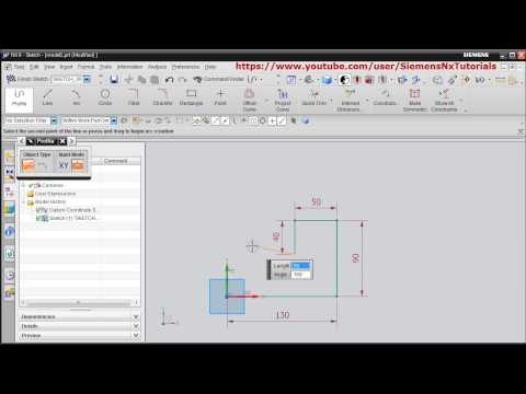 NX Tutorial for Beginners – 1