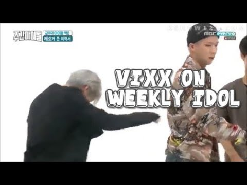Vixx being a mess on weekly idol