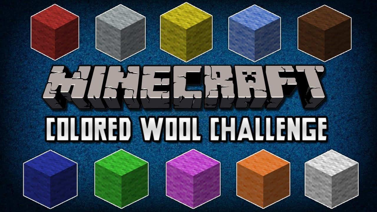 Minecraft Challenges - Episode 1 - The Color Wheel - YouTube