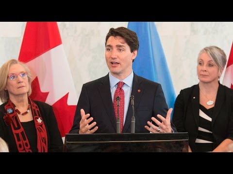 Trudeau on future Canadian UN Peacekeeping
