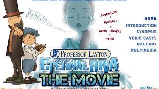 Professor Layton and the Eternal Diva - Full Movie - (Eng Dub).