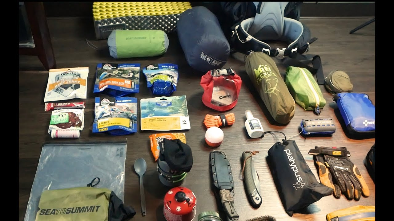 2 Night Backpacking Gear Loadout - Camping Tips Daily