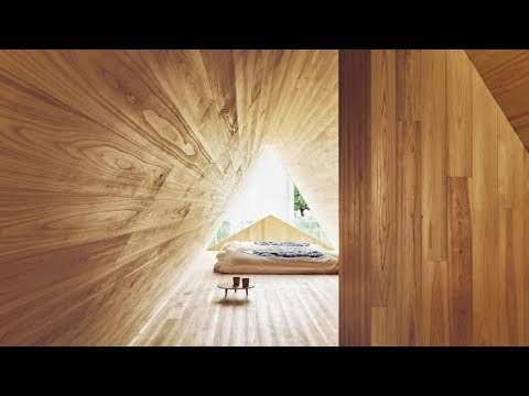 Peek Inside Japanese Artist's Cedar Home, You Can Almost Smell The Wood