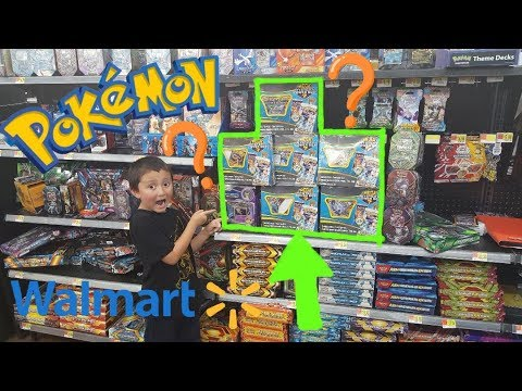 Hunting and Searching For Pokemon Cards At WALMART!! BEST ME