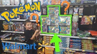 Hunting and Searching For Pokemon Cards At WALMART!! BEST MEGA MYSTERY POWER BOX EVER!! EPIC HAUL!!