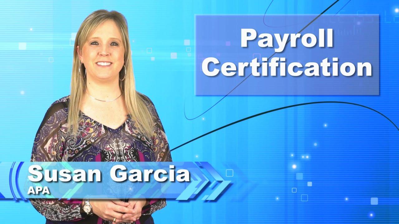 Payroll certification youtube xflitez Choice Image
