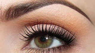 Дневной макияж для зеленых глаз(Надобен Дневной макияж для зеленых глаз, мы поможем Вам. Макияж глаз – это главный этап мэйкапа, именно..., 2014-09-22T19:39:35.000Z)