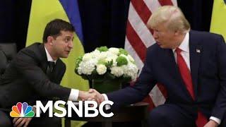 Ukraine Sought US Diplomats' Advice On Trump Pressure Tactics: AP   Rachel Maddow   MSNBC