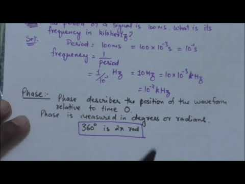 COMPUTER NETWORK: SIMPLE PERIODIC ANALOG SIGNAL, FREQUENCY|,PHASE, WAVELENGTH | Tutorial-19