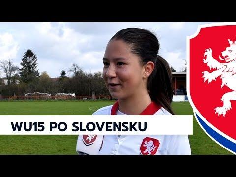 WU15: Česká republika - Slovensko 3:2 (3:1)