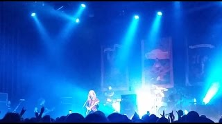 "OPETH ""You Suffer"" / Napalm Death Cover Live 2015 AUSTRALIA"
