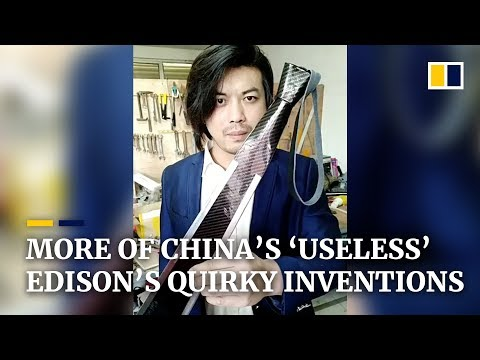 More quirky inventions from China's 'useless' Edison
