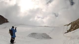 Summer skiing in Norway. Yulia Zayko video blog 1