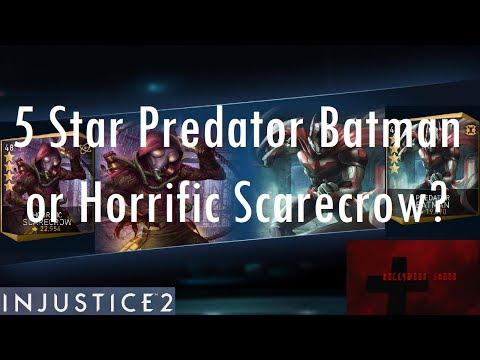 Injustice 2 iOS - 5 Star Predator Batman or Horrific Scarecrow First?