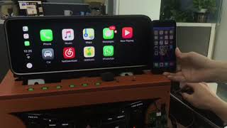 Apple Carplay on Lexus RX450h 2016 with remote touch control by Lsailt