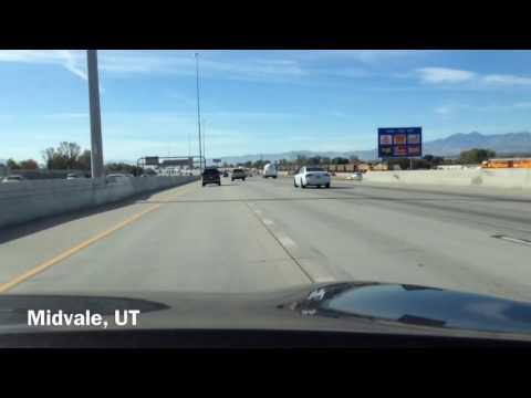 Salt Lake Valley Southbound I-15