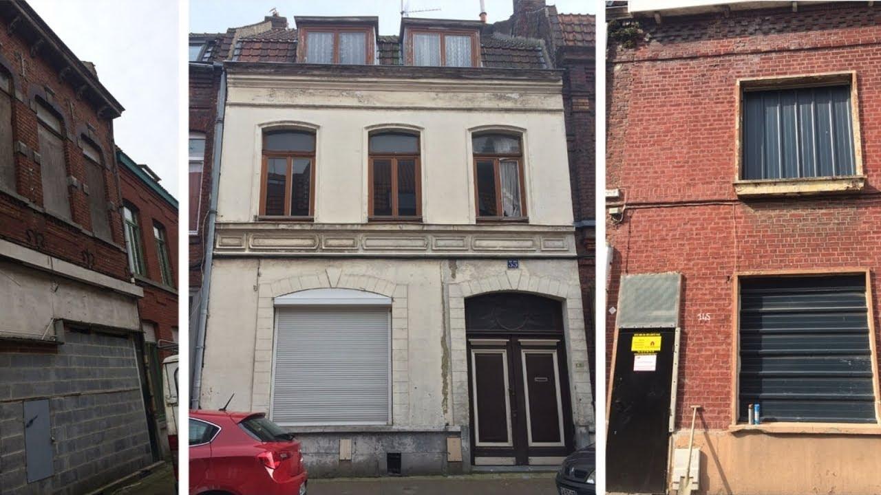 Roubaix vend des maisons à 10 euro pour attirer de nouveaux habitants