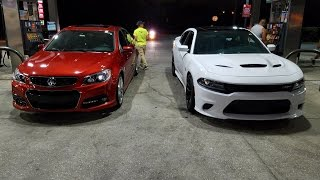 Charger SRT HELLCAT vs Chevy SS vs Jaguar XF 5.0 SuperCharged