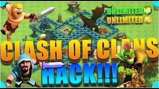 HACKING CLASH OF CLANS / Behind Hack Clash of Clans/iOS & Android 2017