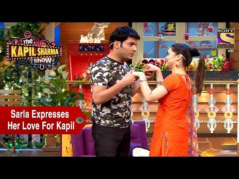 Sarla Expresses Her Love For Kapil – The Kapil Sharma Show