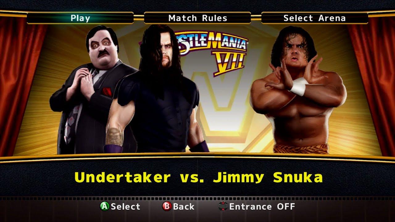 WWE Legends of WrestleMania | The Undertaker vs. Jimmy Snuka
