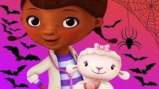 Doc McStuffins Halloween Fix Lambie & Pumpkin Decorating Disney Junior Educational Games