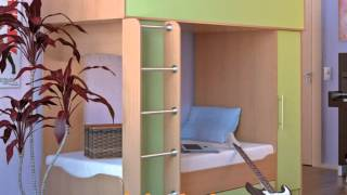 Двухъярусные детские кровати на заказ(, 2013-02-23T15:16:31.000Z)