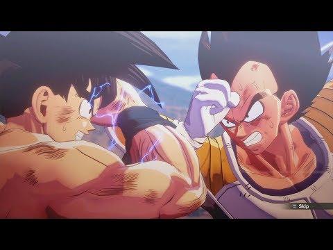 Dragon Ball Z Kakarot - Goku vs Vegeta Boss Battle Gameplay | Galick Gun vs Kamehameha (Full Fight)