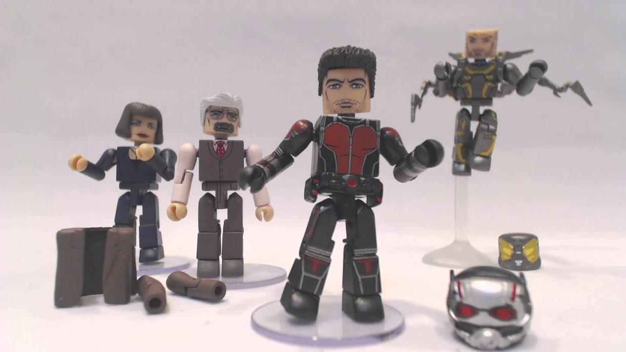 San Diego Comic-Con 2015 Exclusive Marvel Ant-Man Minimates Box Set