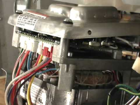 GE HydroWave Washer Motor Error Codes on