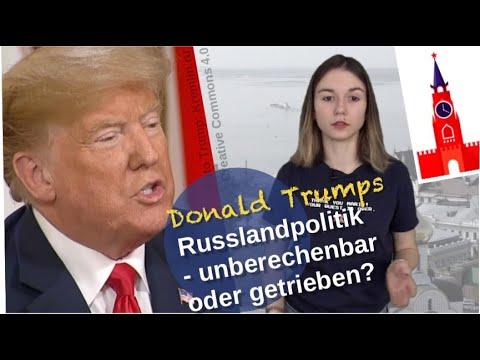 Trumps Russlandpolitik: Unberechenbar oder getrieben?