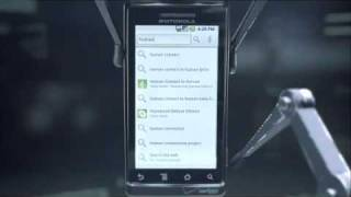 Repeat youtube video Motorola Droid Commercial - Human?