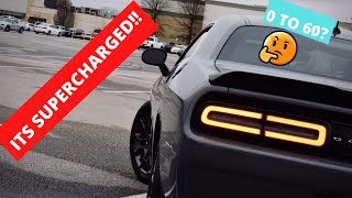RIPP SUPERCHARGED CHALLENGER 0 TO 60 PERFORMANCE TEST!