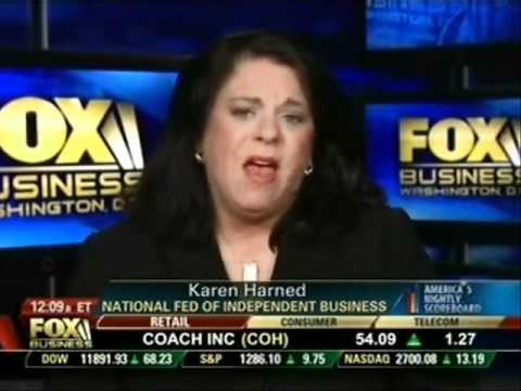 Karen Harned of the NFIB Legal Center on Fox Business