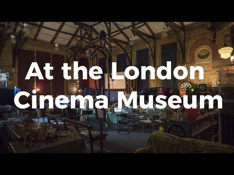 At the London Cinema Museum | Wikimedia UK