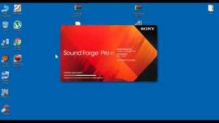 Como Instalar o Sony Sound Forge Pro 11+ [CRACK][ATIVADOR][COMPLETO]