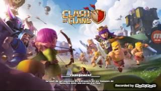 Donne compte clash of clans hdv 9 niv 107