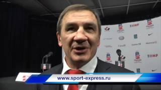 Валерий Брагин после матча со Швецией - 2:1 ОТ