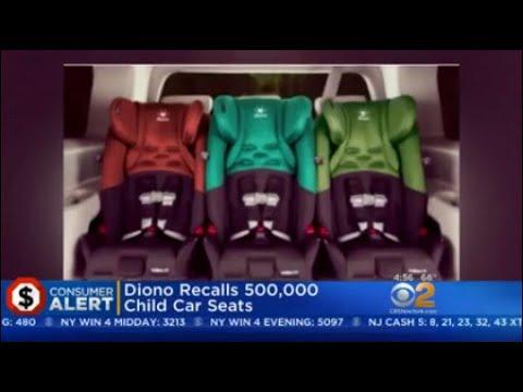 Diono Recalls 500 000 Child Car Seats