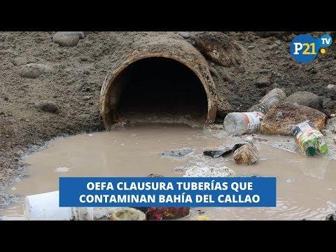 CONTAMINACIÓN EN EL MAR DEL CALLAO: OEFA INTENTA RETIRAR TUBERÍAS CLANDESTINAS LAVOZDEL21