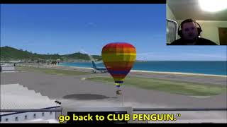 Idiot Pilots In Flight Simulator X Reaction!!!