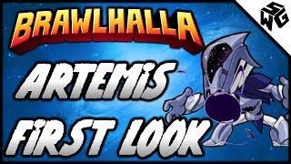 Artemis First Look! - Brawlhalla Gameplay :: New Rocket Lance Legend!!