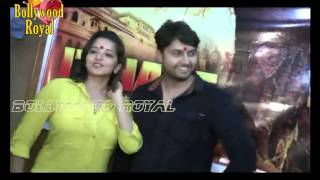 Monalisha & Vikrant Singh at mahurat of Bhojpuri film